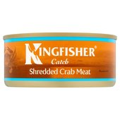 Kingfisher Catch Shredded Crab Meat In Brine
