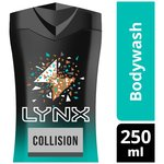 Lynx Bodywash Collision Leather & Cookies