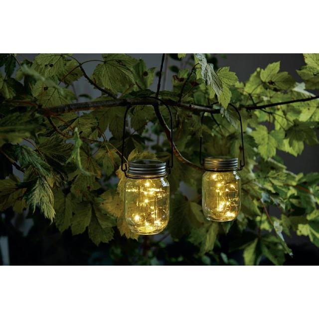Morrisons Solar Jar Lanterns