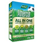Aftercut All In One Lawn Feed, Weed & Moss Killer 170M2