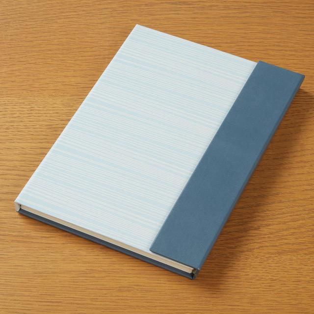 Morrisons Two Tone Magnetic Hardback Notebook
