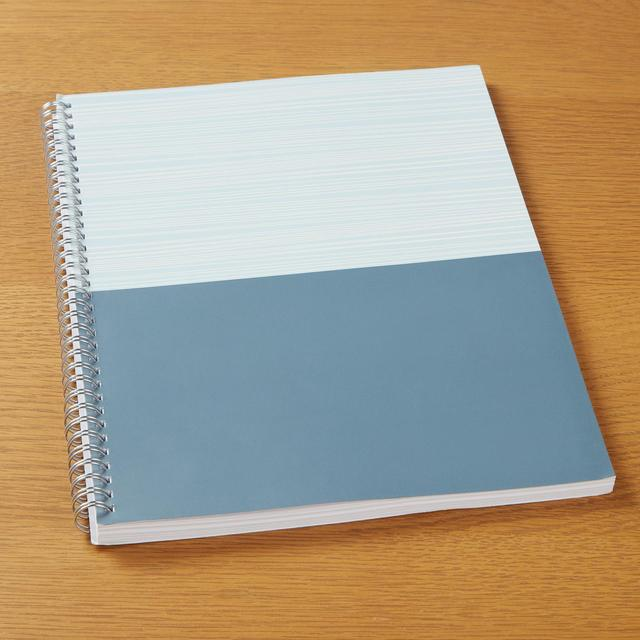Morrisons A4 Two Tone Wiro Notebook