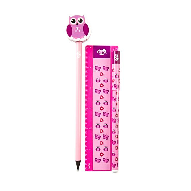 Tinc Woodland Stationery Bundle Pink