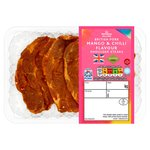 Morrisons British Pork Shoulder Steaks With Mango & Chilli
