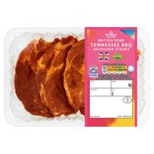 Morrisons British Pork Tennessee BBQ Shoulder Steaks