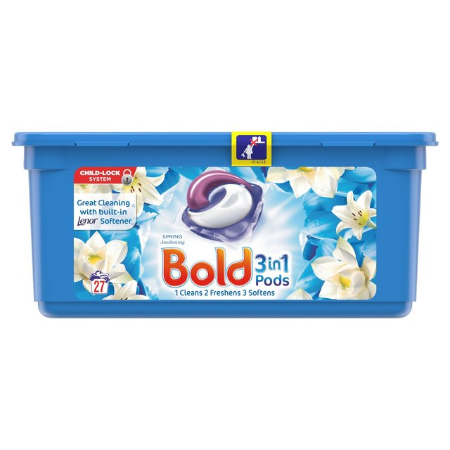 Bold 3 In 1 Pods Lotus Flower & Water