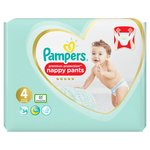 Pampers Premium Protection Size 4 Nappie Pants 34 per pack