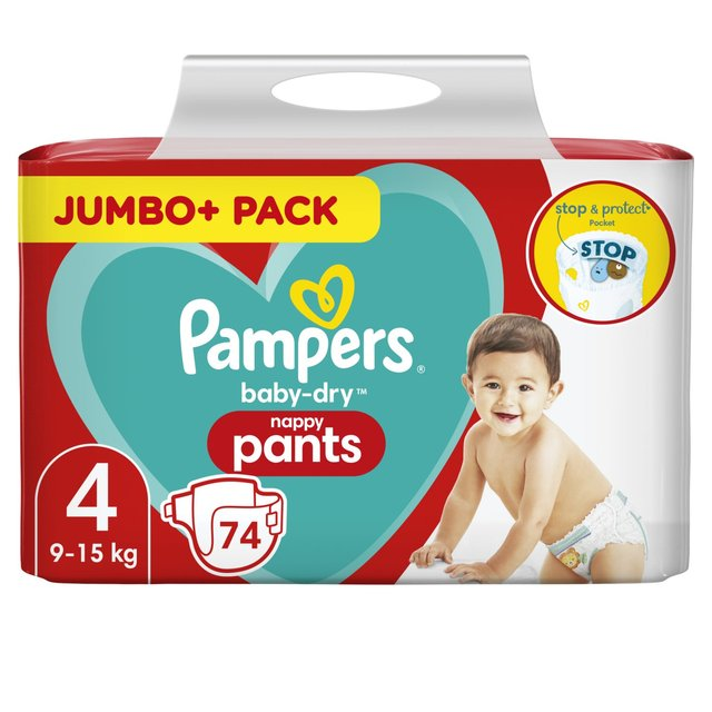 Pampers Baby - Dry Nappy Pants 4
