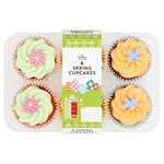 Morrisons Spring Cupcakes