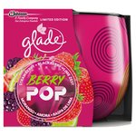 Glade Candle Berry Pop 120G