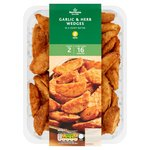 Morrisons Garlic & Herb Wedges
