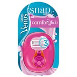 Gillette Venus Snap Handle +1 Comfort Glide Spa Breeze Blade