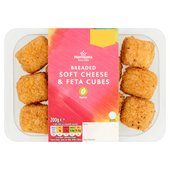 Morrisons Breaded Cream Cheese & Feta Cubes