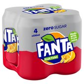 Fanta Fruit Twist Zero Sugar