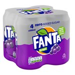 Fanta Grape Zero Sugar