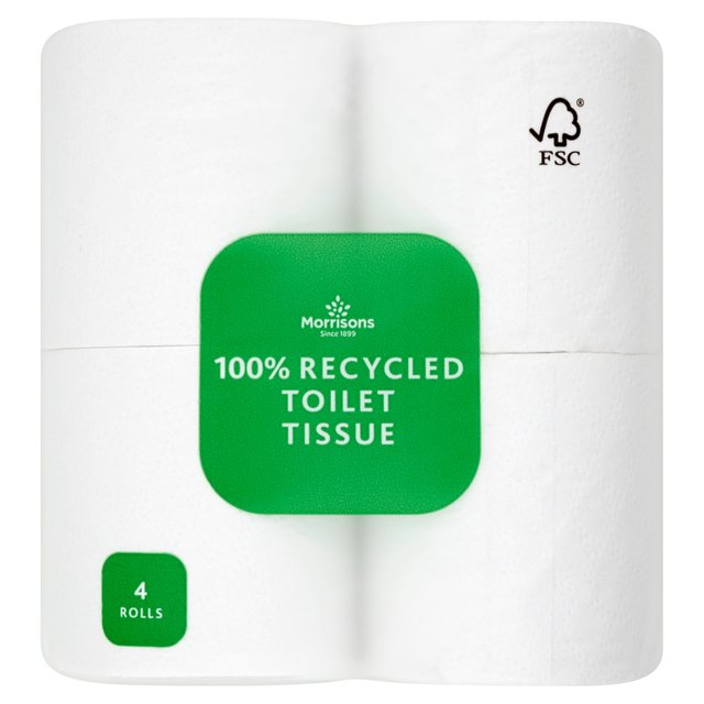 Morrisons Recycled Toilet Tissue Rolls