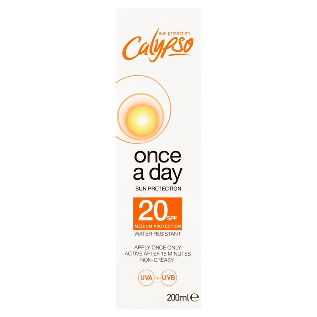 Calypso Once A Day Sun Protection SPF 20