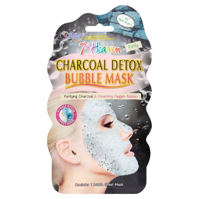 7Th Heaven Charcoal Detox Bubble Mask