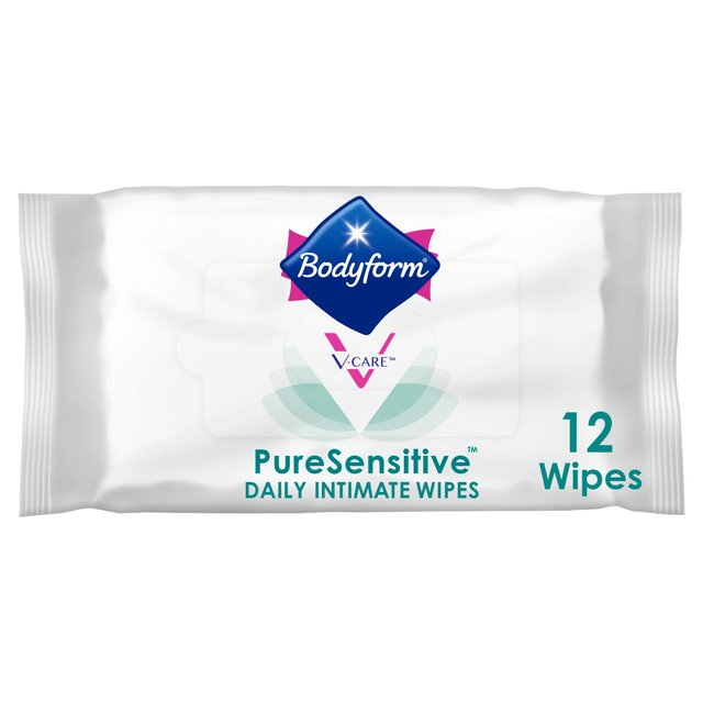 Bodyform Pure Sensitive Feminine Intimate Wipes