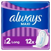 Always Maxi Long With Wings Size 2 Pads