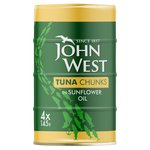 John West Tuna Chunks In Sunflower Oil