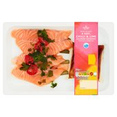 Morrisons Salmon Skewers With Chilli Lime & Soy
