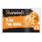Sharwood's 4 Plain Mini Naans