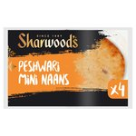 Sharwood's 4 Peshwari Mini Naans