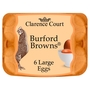Clarence Court Burford Browns 6 Large Free Range Eggs