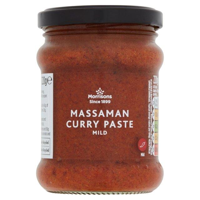 Morrisons Thai Massaman Curry Paste