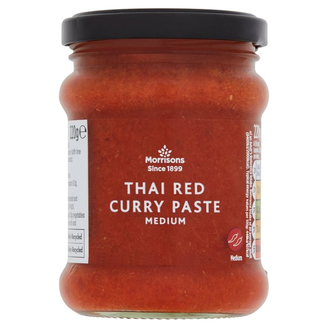 Morrisons Thai Red Curry Paste