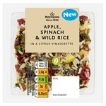 Morrisons Apple, Spinach & Wild Rice Salad