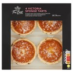 Morrisons The Best  Strawberry Victoria Sponge Tarts