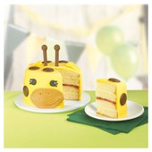 Morrisons George The Giraffe Cake