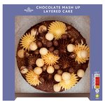 Morrisons Chocolate Mash Up Layered Cake