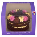 Morrisons Neapolitan Celebration Cake