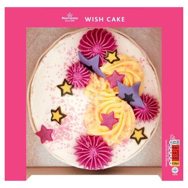 Morrisons Wish Celebration Cake