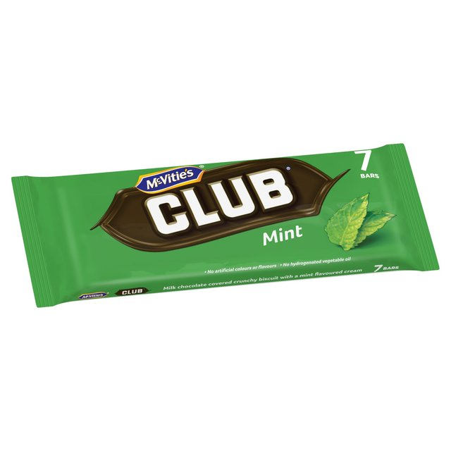 Morrisons Mcvities Club Mint 7 Bars Product Information