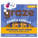 Graze Berry & Vanilla Morning Oat Minis