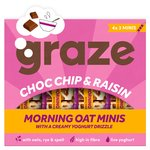 Graze Choc Chip & Raisin Morning Oat Minis