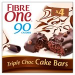 Fibre One 4 Triple Choc Cake Bars