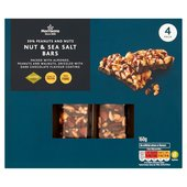 Morrisons Dark Choc & Sea Salt Nut Bars