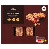 Morrisons Peanut & Peanut Butter Nut Bars