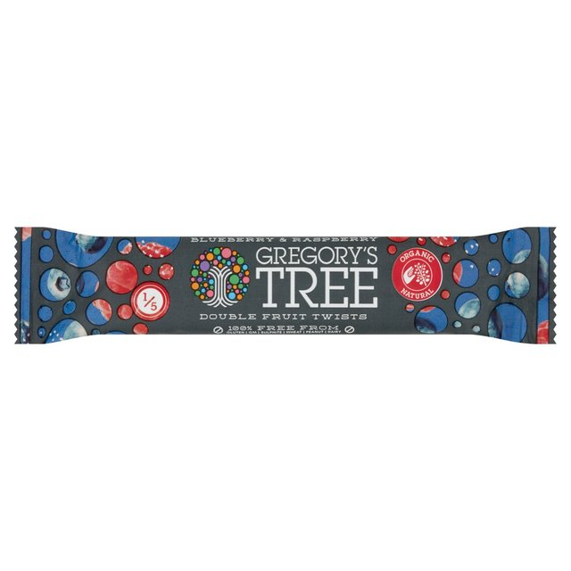 Gregory's Tree Double Fruit Twists Blueberry & Raspberry