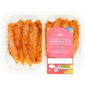 Morrisons Mango & Lime Chicken Mini Fillets