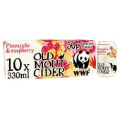 Old Mout Cider Pineapple & Raspberry Cans