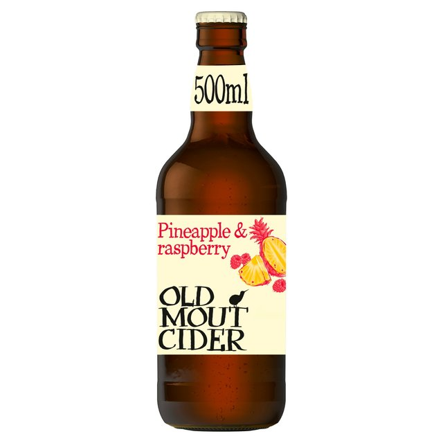 Old Mout Cider Pineapple & Raspberry Bottle