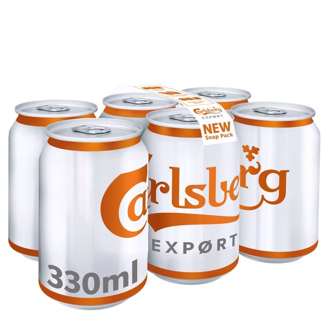 Morrisons: Carlsberg Export Snap Pack 6 x 330ml(Product Information)