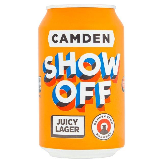 Camden Show Off Juicy Lager