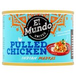 El Mundo United Pulled Chicken Indian Madras